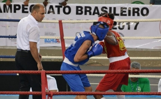 Com presença de ídolos, Ginásio de Cajazeiras sedia Campeonato Brasileiro de Boxe