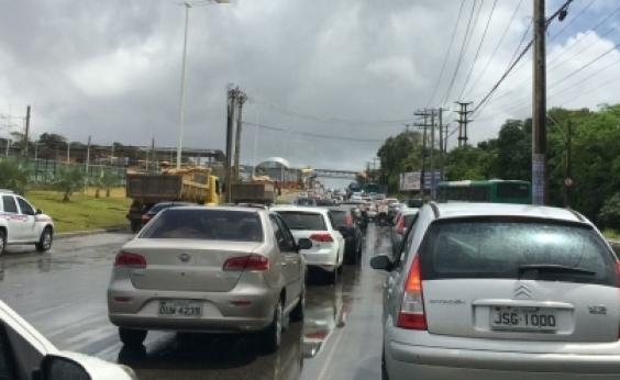 Confira as vias com lentidão nesta sexta-feira em Salvador