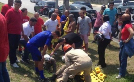 Senador Romário se envolve em acidente de trânsito no Rio de Janeiro