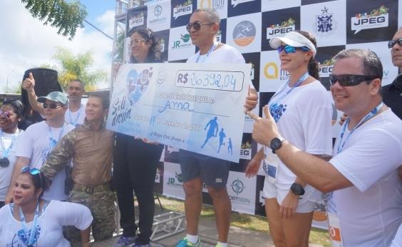 Polícia Civil faz doação de R$ 26 mil à Associação dos Autistas