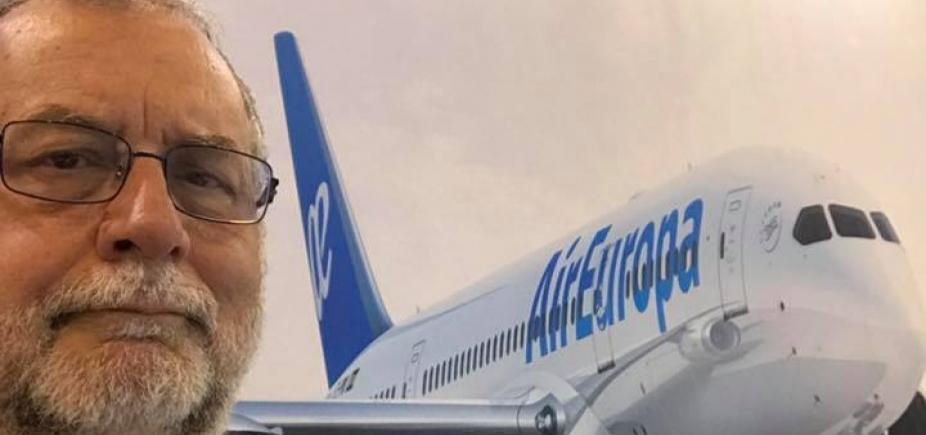 [AL-BA concede título de cidadão baiano ao diretor da Air Europa]