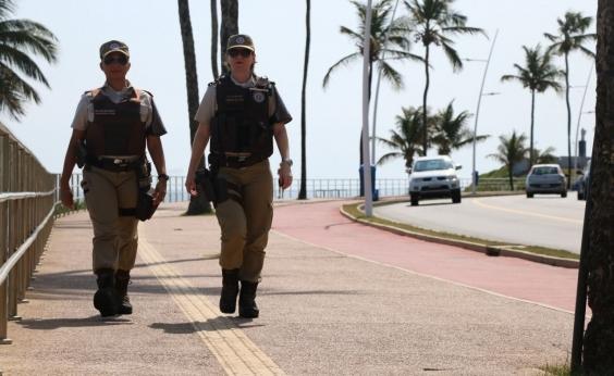 Polícia reforça segurança na Barra e Rio Vermelho durante o verão