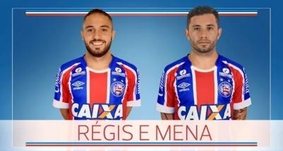 Bahia anuncia permanência de Régis e a contratação de Mena