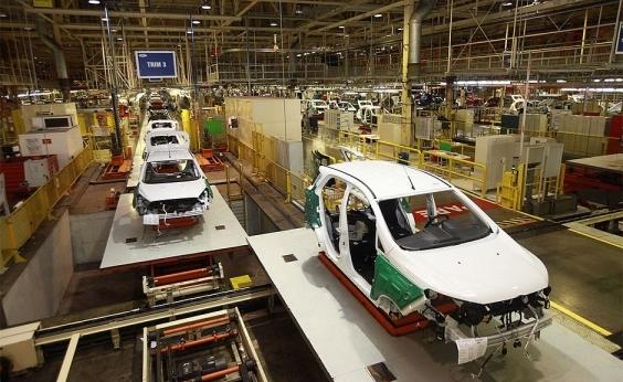 Produção industrial baiana cresce 3,5%