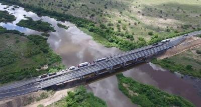 Liberada ponte sobre o Rio Paraguaçu, na BR-116