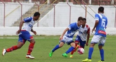 Bahia perde e acaba eliminado pelo Taubaté na Copinha