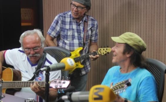 Armandinho, Dodô & Osmar fazem show com Daniela no Farol da Barra