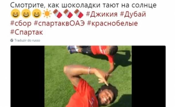Clube russo é acusado de racismo: 'Vejam como chocolate derrete no sol'