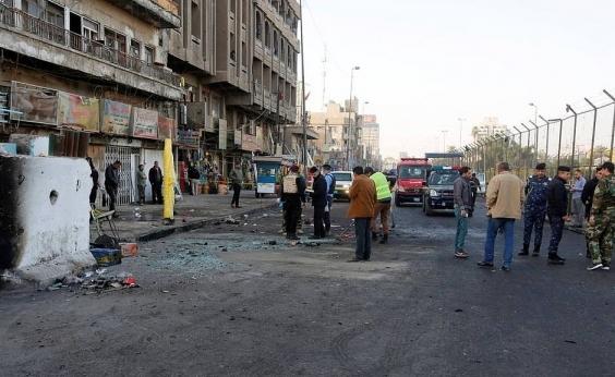 Duplo atentado em Bagdá deixa pelo menos 26 mortos e 75 feridos