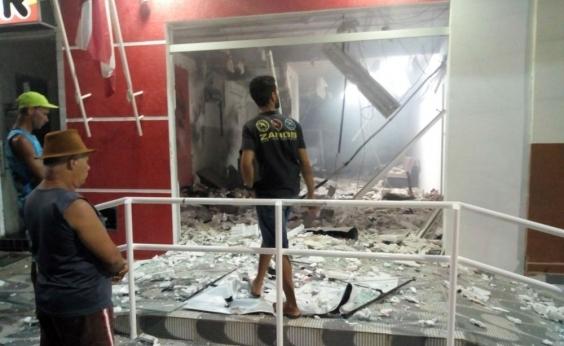 Homens explodem e roubam agência bancária na Chapada Diamantina