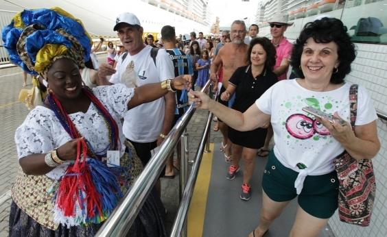 Número de transatlânticos na Bahia aumenta 8,4%