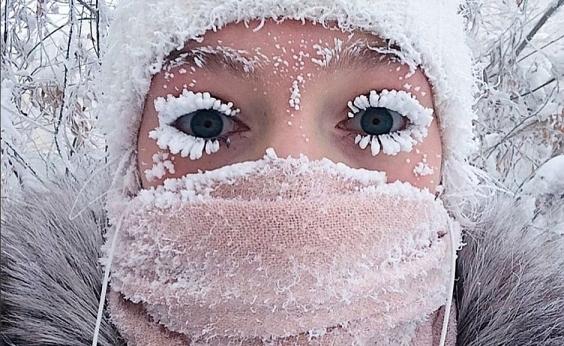 Frio na Rússia: escolas suspendem aulas após temperaturas chegarem a -67ºC