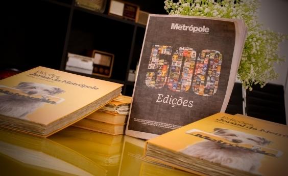 Jornal da Metrópole 500: saiba onde pegar a edição especial desta semana