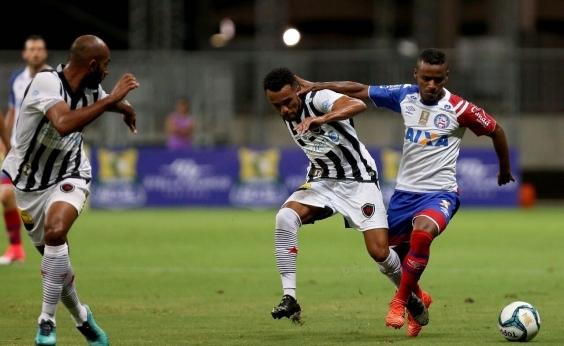 Bahia perde na estreia do Nordestão para o Botafogo-PB por 1 a 0