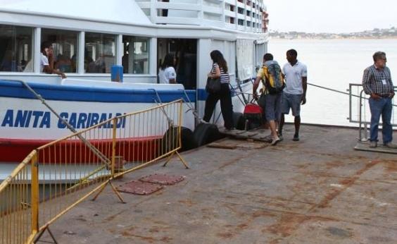 Travessia Salvador-Mar Grande tem movimento intenso neste sábado