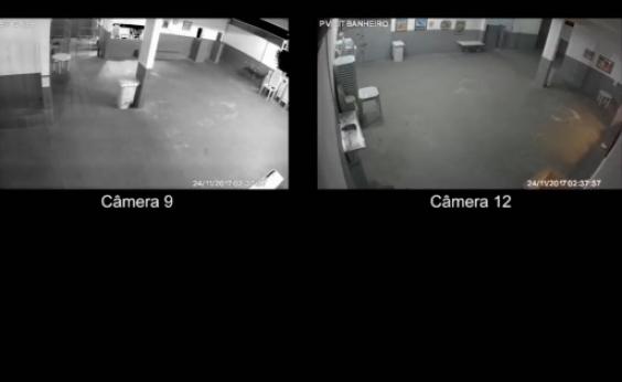 Câmeras mostram benefícios de presos da Lava Jato em cadeia do Rio; vídeo
