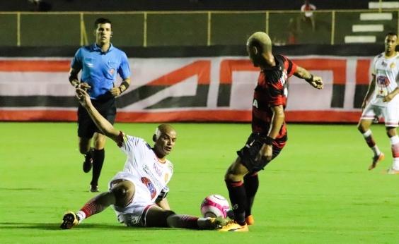 Vitória fica no empate com a Juazeirense em 2 a 2 no Baianão