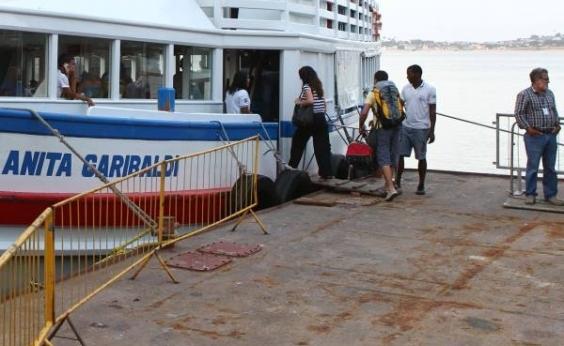 Travessia Salvador-Mar Grande tem movimento intenso de retorno da Ilha