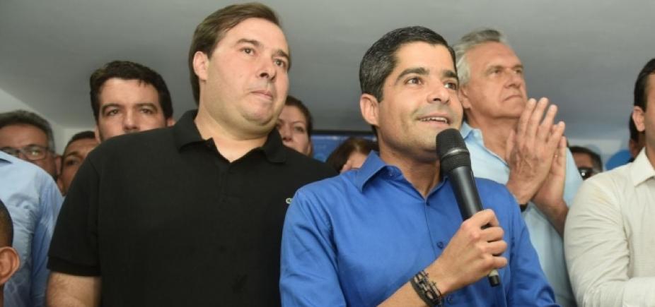 [Rodrigo Maia pede que PP apoie ACM Neto na Bahia]