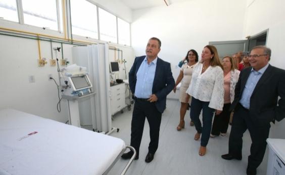Hospital Geral de Itaparica é entregue após requalificação