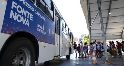 Carnaval: faixa exclusiva de ônibus e táxis será fiscalizada por radar