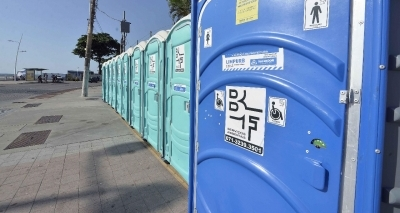 Prefeitura paga R$ 4 mi a mais por banheiros químicos este ano