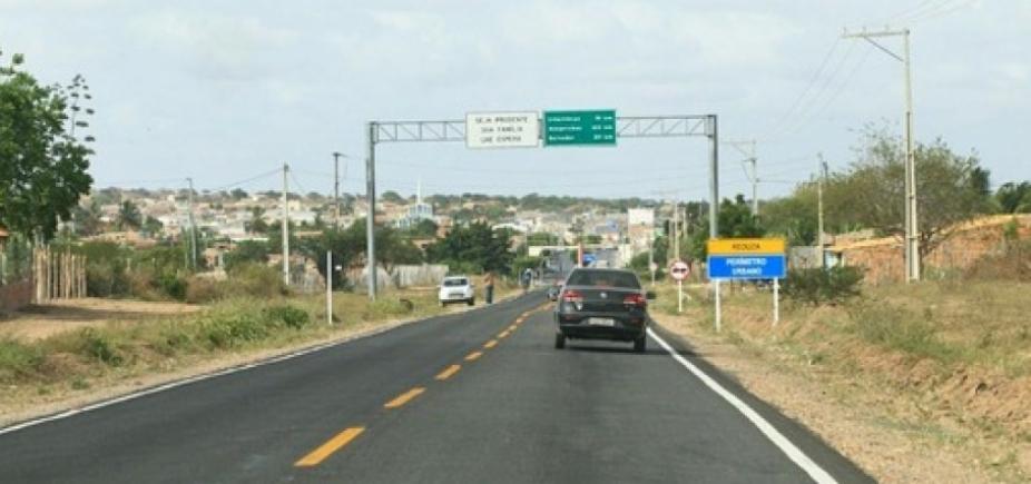 [Governo entrega recuperação da BR-349, divisa entre Bahia e Sergipe]