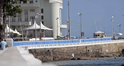 Banheiros químicos são deslocados após insatisfação de moradores da Barra