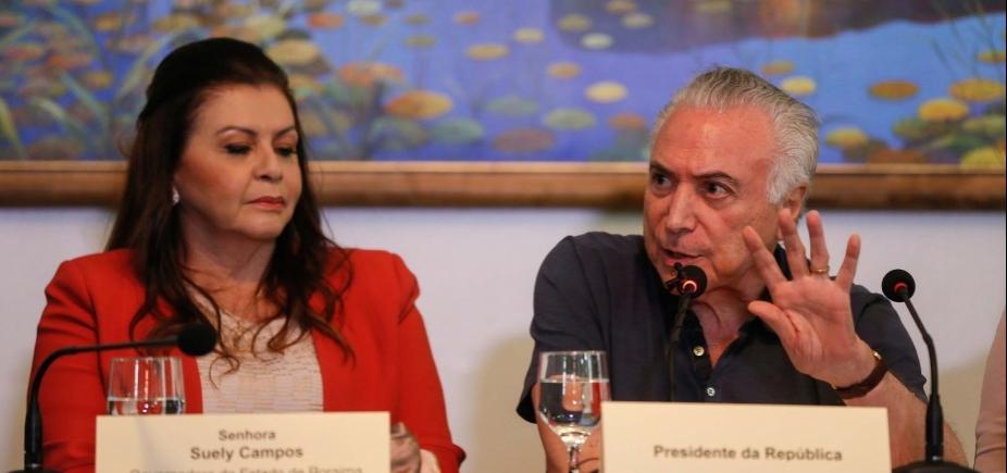 [Crise de refugiados venezuelanos será solucionada até o fim do ano, promete Temer]