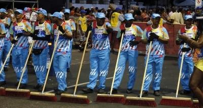Limpurb recolheu mais de mil tonelada de resíduos no Carnaval; total aumentou 14%