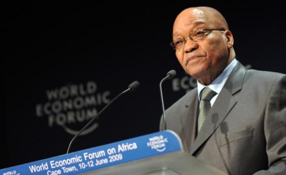 Acusado de corrupção, presidente da África do Sul renuncia