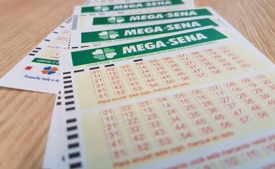 Mega-Sena acumula e poderá pagar R$ 100 milhões no sorteio de sábado