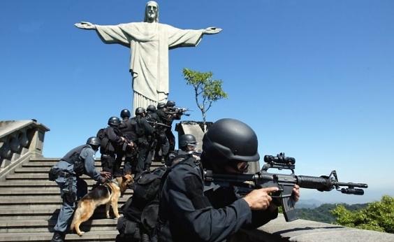 Governo federal fará intervenção na segurança do Rio