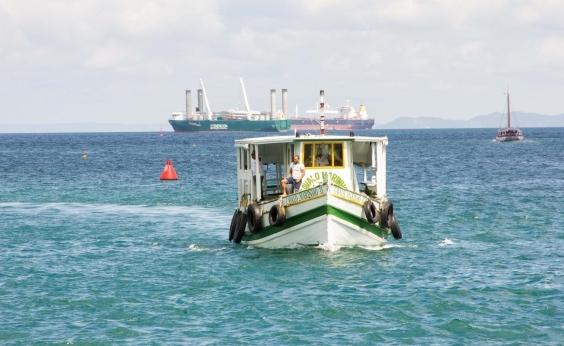 Maré baixa suspende travessia Salvador-Mar Grande até às 11h