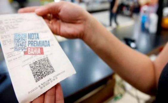 Nota Premiada Bahia divulga ganhadores de prêmios de R$ 100 mil