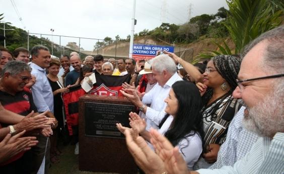 Após entrega da Via-Barradão, Rui se torna primeiro tricolor na galeria de beneméritos do Vitória