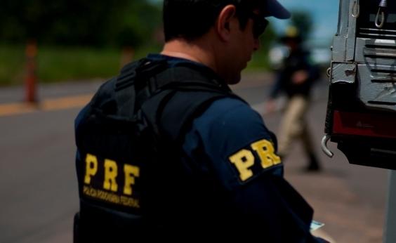 Foragido da Justiça baiana é preso após pedir ajuda à PRF