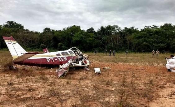 Três pessoas morrem após queda de avião de pequeno porte em Manaus