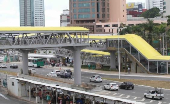 Conjunto de passarelas é inaugurado na região da Rodoviária