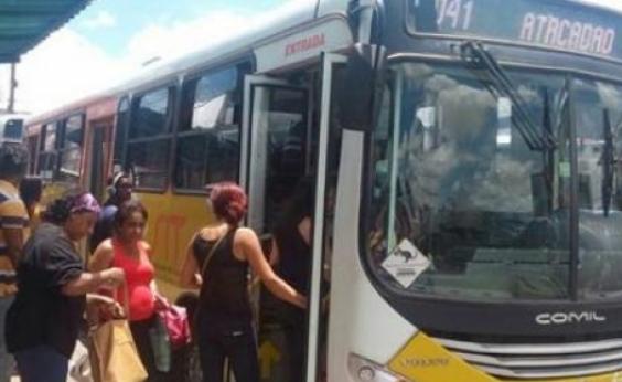 Conquista: funcionários de empresa de ônibus paralisam atividades