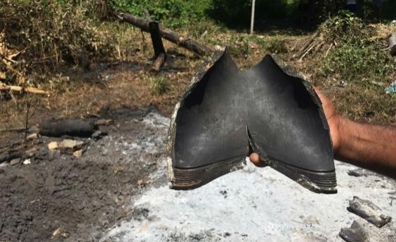 Pesquisadores descartam que peça encontrada após clarão seja meteorito
