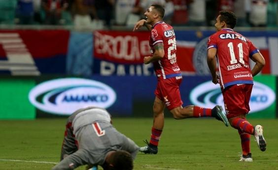 Com gol e assistência de Vinícius, Bahia derrota Náutico por 2x1 na Fonte