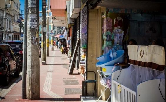 Baixa dos Sapateiros acumula lojas vazias e ruas abandonadas; veja vídeo
