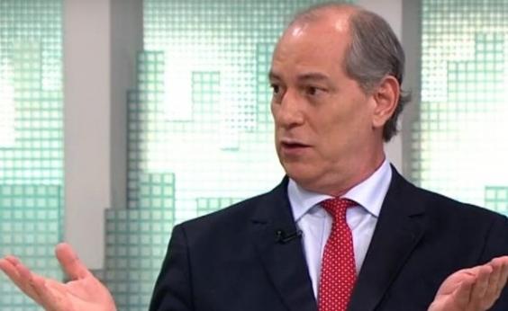 'É mais fácil um boi voar do que o PT apoiar alguémʹ, diz Ciro Gomes