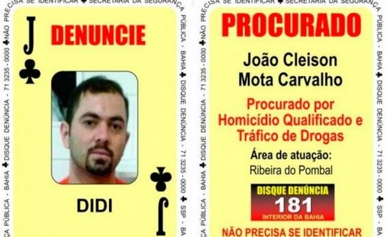 Integrante do ʹBaralho do Crimeʹ preso em Alagoas desembarca na Bahia