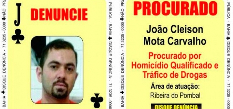 [Integrante do ʹBaralho do Crimeʹ preso em Alagoas desembarca na Bahia]