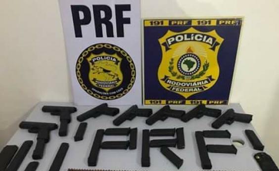 Apreensão de cocaína e munição cresceu nas rodovias federais da Bahia