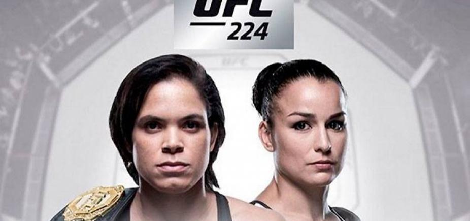 [Duelo Amanda Nunes x Pennington será luta principal do UFC Rio]
