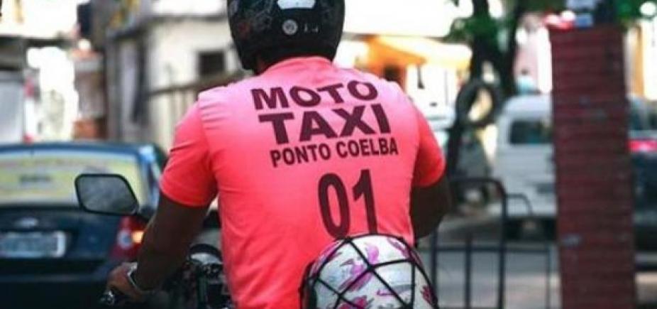 [Credenciamento para mototaxistas será retomado a partir de segunda]