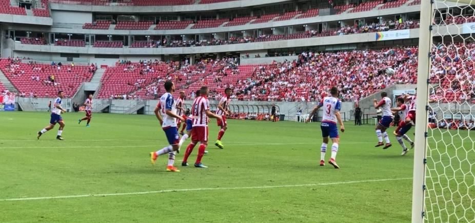 [Com desfalques, Bahia perde de 1 x 0 para o Náutico em Recife]